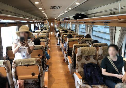 A列車で行こう、座席タイプ