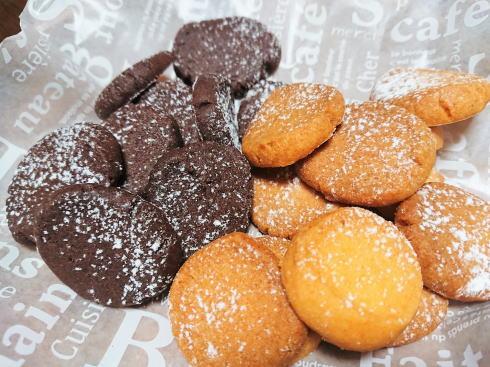 セリア スノーボールクッキー 画像