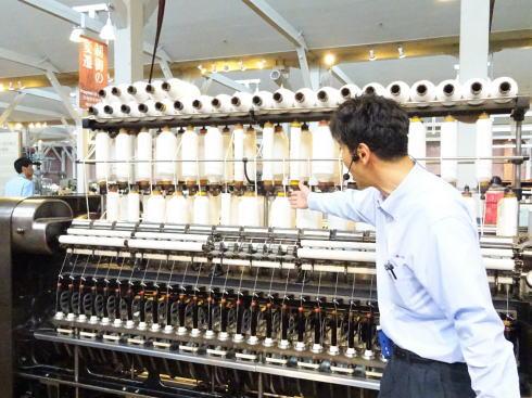トヨタ産業技術記念館(愛知県名古屋市)で働くスタッフさん