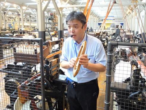 トヨタ産業技術記念館(愛知県名古屋市)繊維機械館3
