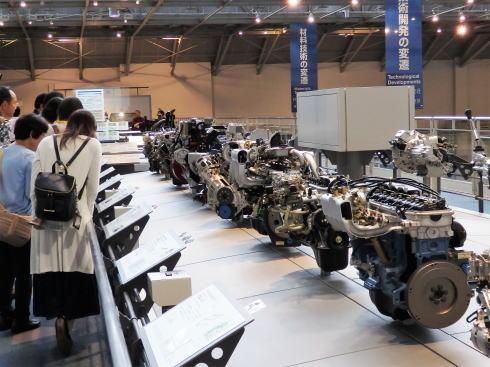 トヨタ産業技術記念館(愛知県名古屋市)自動車館3
