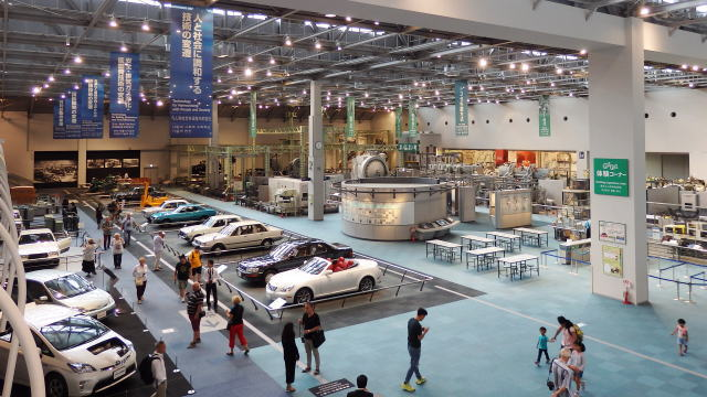 トヨタ産業技術記念館(愛知県名古屋市)自動車館8