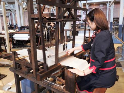 トヨタ産業技術記念館(愛知県名古屋市)繊維機械館4