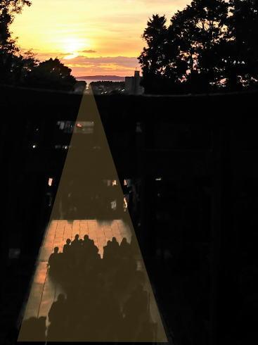 福岡・宮地嶽神社 「光の道」イメージ