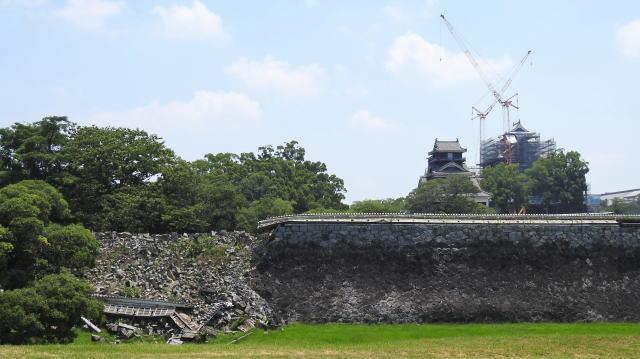 熊本城 地震の被害4