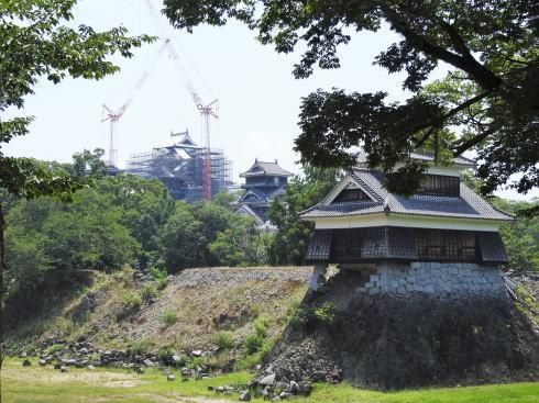 熊本城 地震の被害3