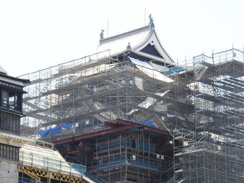 熊本城 地震の被害5