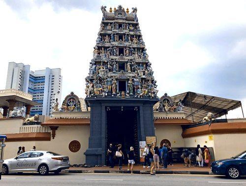 スリマリアマン寺院 シンガポール・チャイナタウンにあるヒンドゥー教寺院