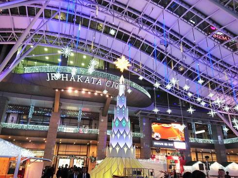 博多駅イルミネーション 画像2