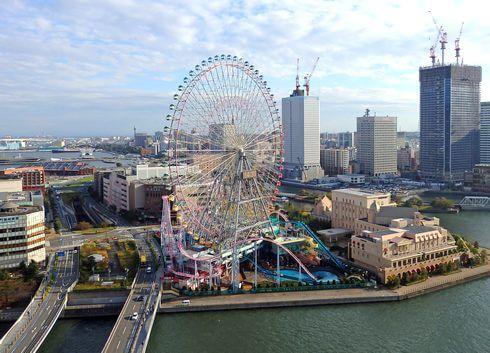 横浜の観覧車「コスモクロック21」