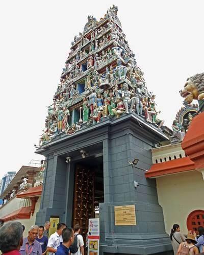 スリマリアマン寺院のゴプラム