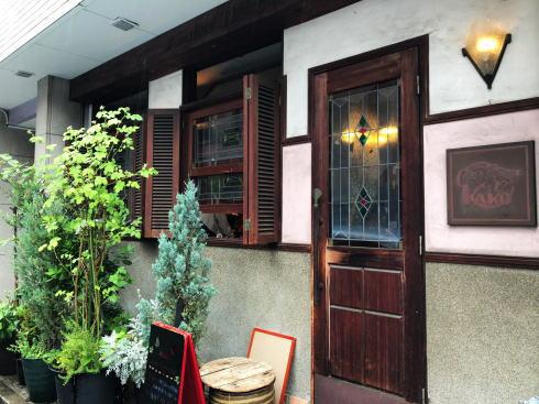 名古屋 コーヒーハウスかこ 花車本店 外観2