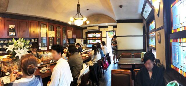 名古屋 コーヒーハウスかこ 花車本店 店内の様子