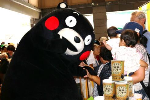 くまモンの防災用クッキー発売、熊本小麦のザクザク食感
