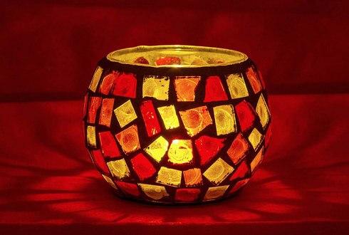 キャンドルグラスに溶け残ったロウを、綺麗に取る方法