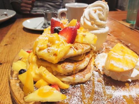 コナズ珈琲 ハワイアンパンケーキ