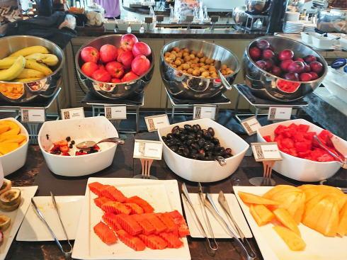 マリーナベイサンズ CLUB55 朝食ビュッフェのラインナップ7