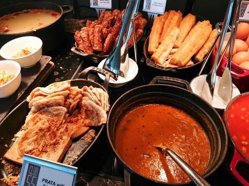 マリーナベイサンズ CLUB55 朝食ビュッフェのラインナップ2