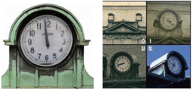 門司港駅のシンボルでもある大時計