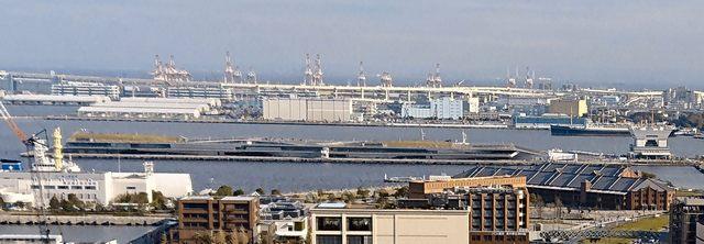 横浜港大さん橋国際客船ターミナル、全景