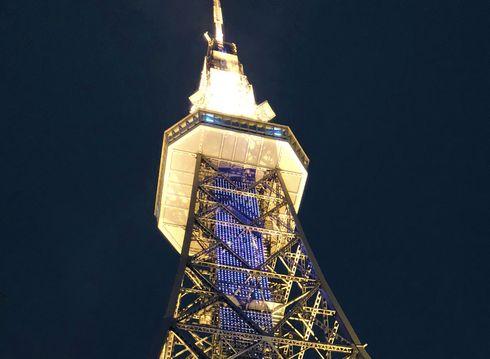 名古屋テレビ塔 ライトアップ