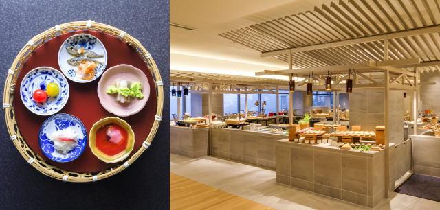 箱根 芦ノ湖温泉「はなをり」のブッフェレストラン