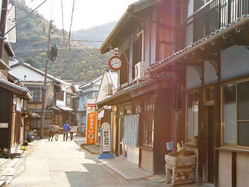 御手洗、広島県呉市・大崎下島の風景