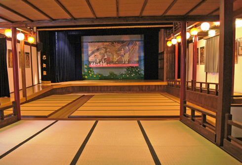 御手洗、広島県呉市・沖友天満宮の風景