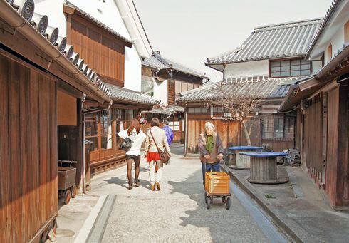 御手洗、広島県呉市・大崎下島のレトロな街並み
