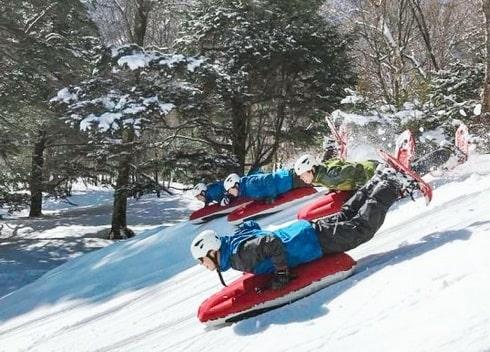 日光でスノーシュー&スノートレッキング体験