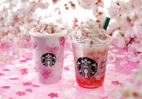 桜のフラペチーノやグッズが登場!スターバックスが春爛漫