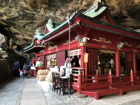 鵜戸神宮、洞窟の中に本殿