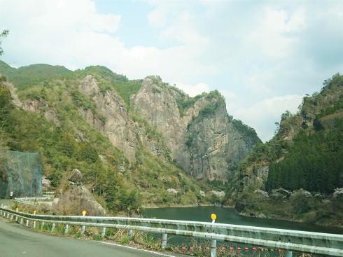 福岡県八女市 日向神峡 写真 ハート岩2