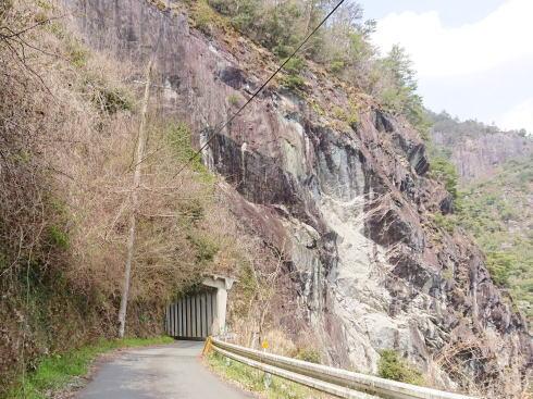 福岡県八女市 日向神峡 写真