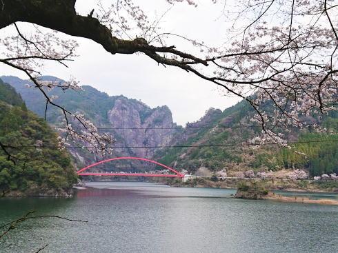 福岡県八女市 日向神峡 写真 ハート岩