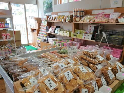福岡県八女市 杣のさと 店内の様子