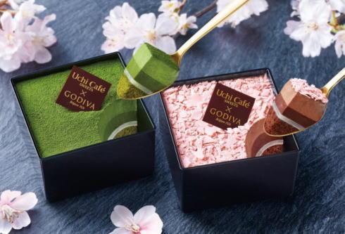 ゴディバのお花見ショコラスイーツセット、ローソンで限定発売