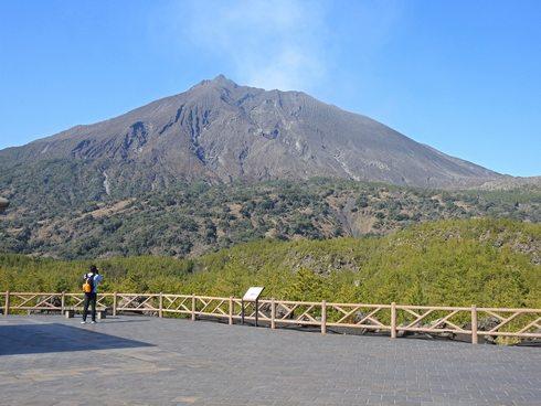 桜島の噴火は日常的