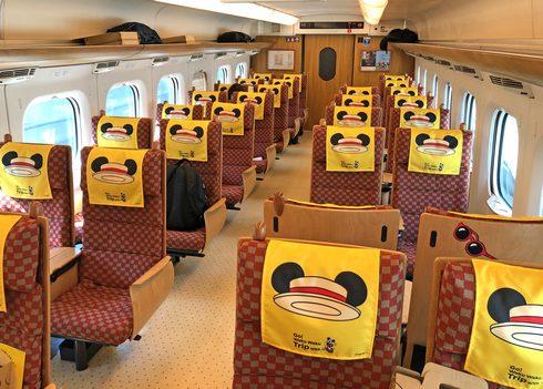 ミッキー新幹線に乗ってみた!博多から鹿児島まで