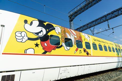 JR九州 ミッキー新幹線、ラッピングデザイン