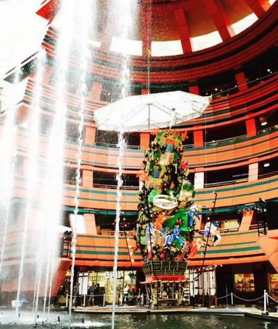 キャナルシティ博多で「飾り山笠」&噴水・映像・光の「山笠ショー」