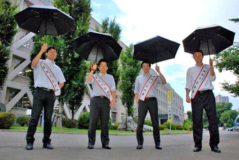 メンズ日傘 プレゼントの新定番なるか?使ってみれば分かる涼しさ!日傘男子のススメ