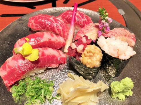 馬肉専門レストラン「菅乃屋」熊本に来たら味わいたい!馬肉寿司にとろける