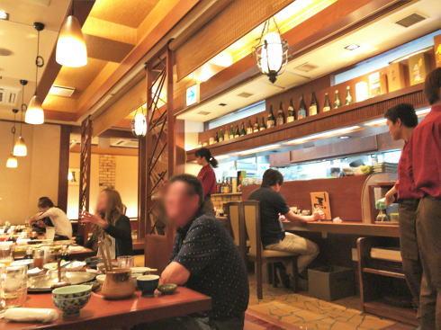 馬肉専門店 熊本 菅乃屋 銀座通り店 店内の様子