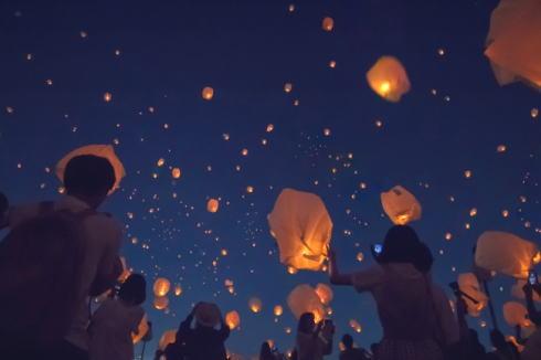 七夕スカイランタン祭り 東京・神戸で開催、2万個のランタンリリース!