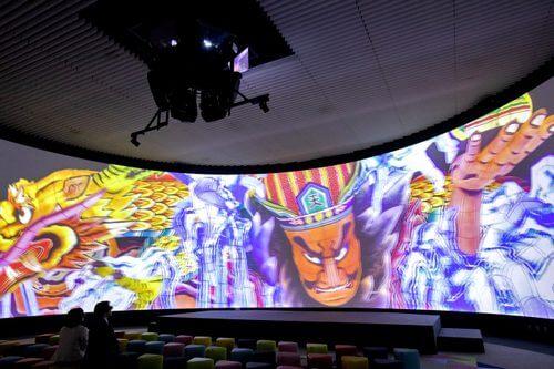 ねぶた祭りや大自然を3Dデジタル巨大360度スクリーンで!「青い森ホール」青森に