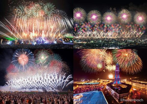 全国花火大会ランキング・トップ10、ツアーから見る人気の花火大会1位は3年連続で大曲花火大会