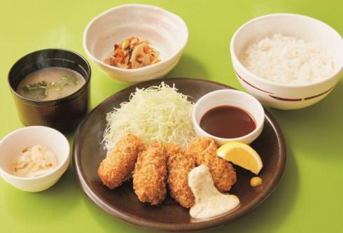 ガスト 広島産カキフライ和膳