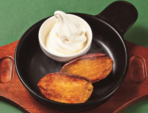 ガスト 種子島産安納芋のとろける焼きいも 北海道ソフト添え
