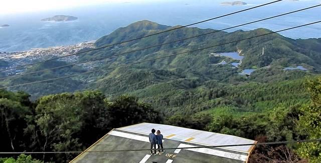 嵩山展望台から眺める、周防大島のパノラマビュー!